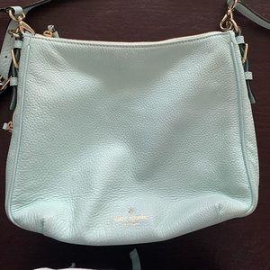 Light blue Kate Spade crossbody bag